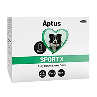 Aptus Sport X Electrolytes for All Dogs | For Dog Hydration After Exercise, Sickness, Travelling, or On A Hot Day