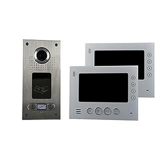 AE CKA2-812S1-02 2 Fam. RFID Color Video Door Intercom Set 2