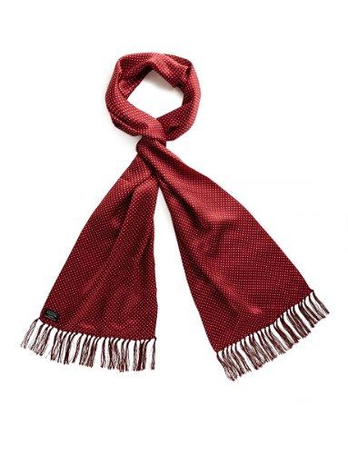 o Vintage 100% Seide Schal in vielen verschiedenen Stilen, Rot, 105 x 25 ()