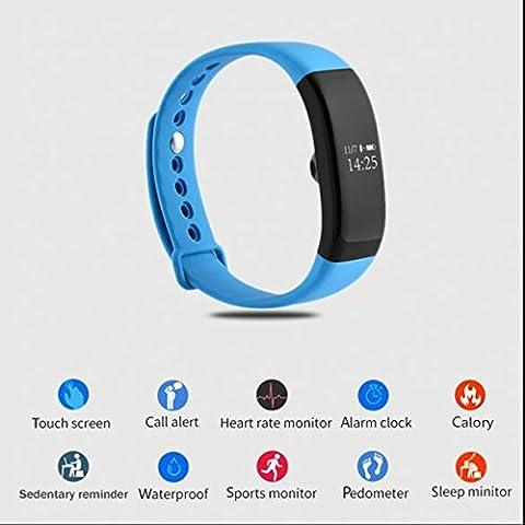Armbänder für MP3-Player,Touch Display Sport Wristband,Bluetooth Smart Uhr mit Schrittzähler/Schlafanalyse etc,fitness Smartwatches