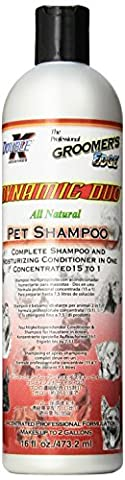 Groomer's Edge Dynamic Duo Dog and Cat Shampoo/Conditioner, 16-Ounce