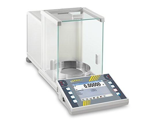 Kern & Sohn wlag510AET Analytische Zahlungsbilanz, ohne Zulassung, 0–510g Serie Bereich-Wägezelle Skala, 0.0001g