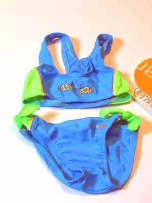 Preisvergleich Produktbild SOLAR Bikini türkis Fische Schleifen Gr. 80 NEU