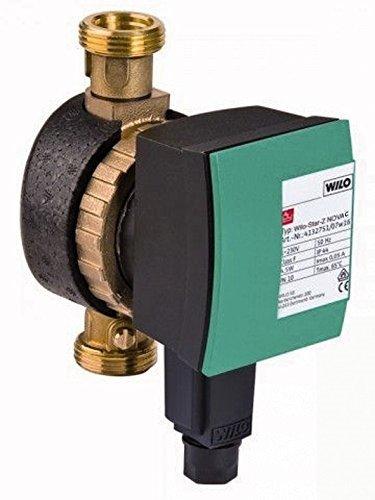 Wilo Pumpe Star-Z Nova C 230V Zirkulationspumpe für Trinkwasser mit Steckerzeitschaltuhr 4132762 (Warmwasserpumpe Wilo)