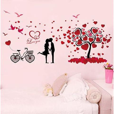 Parete npwmaxmin caldo coppie romantiche , cartoon fate dei fiori