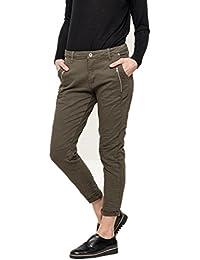 Jeans coupe décontracté à poche zip