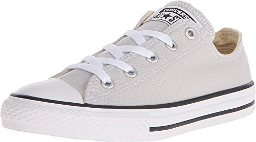 Converse Chuck Taylor All Star Oxford Fashion Sneaker Shoe - Mouse - Boys - 3 Chuck Taylor Oxford