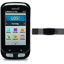 Garmin Edge 1000 + Monitor de frecuencia cardiaca premium (correa blanda)