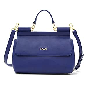 Kadell, Borsa a mano donna, Bleu Foncé (blu) - KADELLRRF2gk88