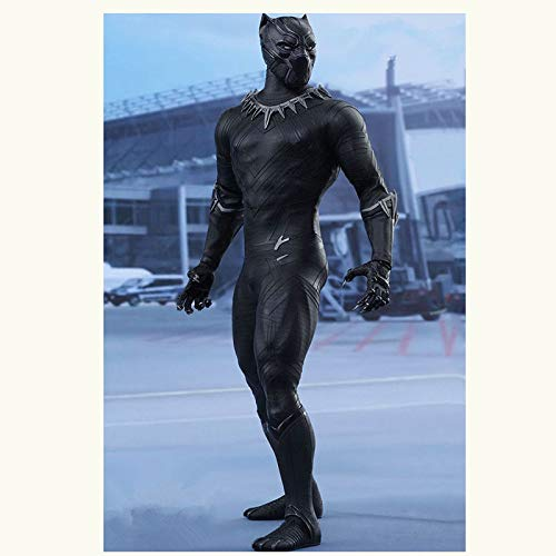 XLYAN ARTFX Plus Statue Avengers League Spielzeug Actionfiguren Black Panther True-Moves Actionfigur,Beweglich,30CM,Blackpanther (Ultimate Black Panther)