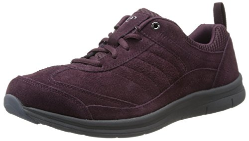 Easy Spirit e360 South Coast Simili daim Baskets Wine