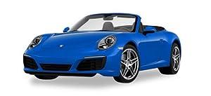 Herpa 038843Porsche 911Carrera 2Cabrio, vehículos, Zafiro Azul metálico