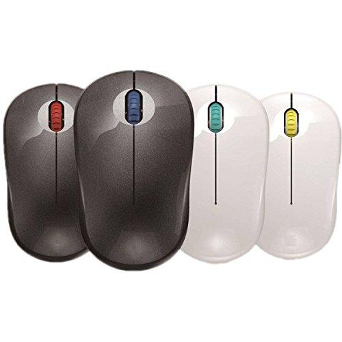 MDSNFH Drahtlose Maus 2.4Gwireless Super Energie Haus Speicher Empfänger Laptop Spiel Maus. DPI Einstellbar. -