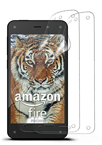 moex 2X Amazon Fire Phone | Schutzfolie Klar Bildschirm Schutz [Crystal-Clear] Screen Protector Display Handy-Folie Dünn Bildschirmschutz-Folie für Amazon Fire Phone Bildschirmfolie
