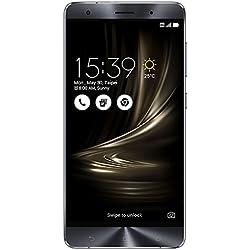 """Asus ZenFon 3Deluxe Smartphone, 5,7""""Full HD, Snapdragon 820, 6Go RAM, Marque TIM, 64Go, Argent [Italie]"""