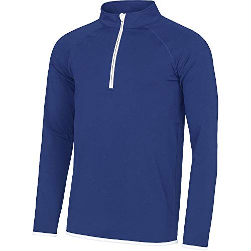 Outdoor Look Mens Cool Sweat Half Zip Active Sweatshirt Top - Active Sweat