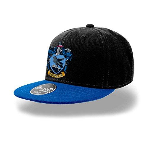 Official Harry Potter Hogwarts Hufflepuff Crest Snapback Cap Hat One Size