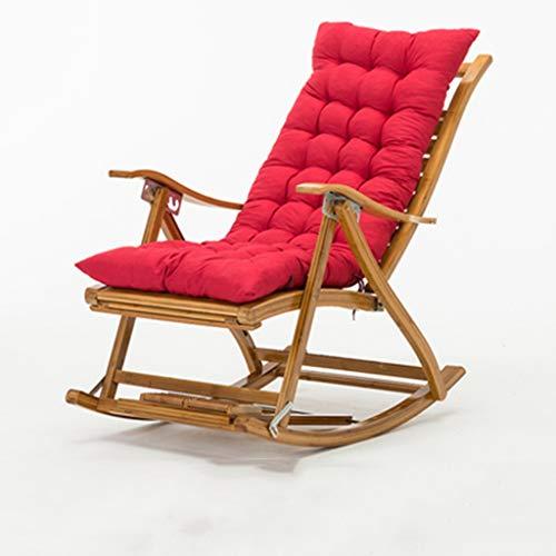 149x60x86cm Schaukelstuhl Relaxliege Strandliege Einfache Endmontage Hochwertige