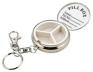 Boite à pilules de poche pilulier voyage 3 compartiments
