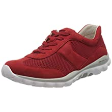 Gabor Shoes Rollingsoft, Sneakers Basses Femme, Rouge (Flame 68), 40 EU