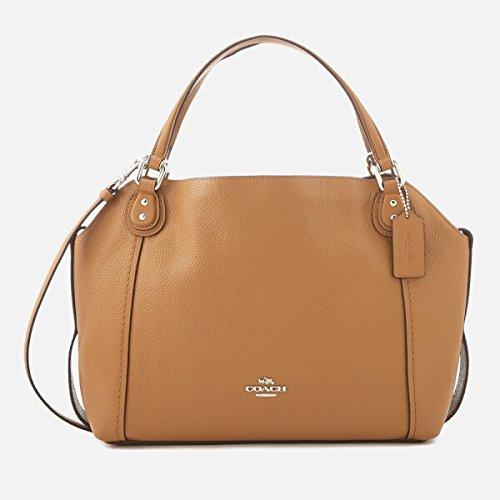 EDIE SHOULDER BAG 28 BEIGE, Damen, Taglia One Size. (Parfum Für Frauen-coach)