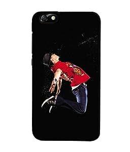 Fuson 3D Printed Dance Designer Back Case Cover for Huawei Honor 4X - D617