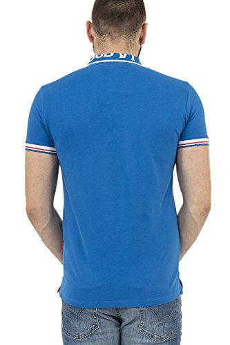 KAPORAL Herren Poloshirt SYX Bleu (Electric)