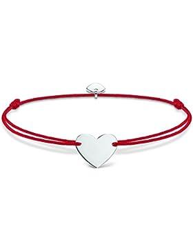 Thomas Sabo Damen-Armband Little Secrets  925 Sterlingsilber rot LS006-173-10-L20v