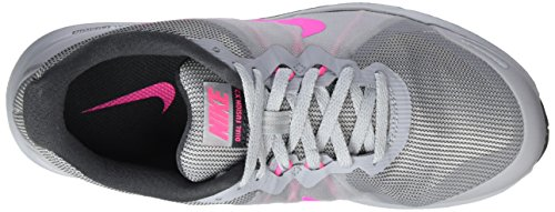 Nike Wmns Dual Fusion X 2, Chaussures de Running Compétition Femme Multicolore (Wolf Grey/pink Blast/anthracite/white)