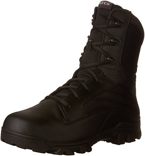 Bates Men's Zr-8 Side Zip Combat Boot,Black,7 EW US (Mens Knee High Leder Stiefel)