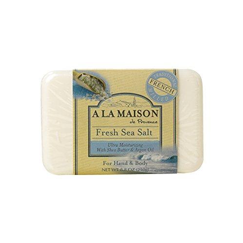 A La Maison Bar Soap Fresh Sea Salt (8.8 Oz)