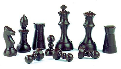 Cofre de molde de ajedrez profesional. 16 huecos.