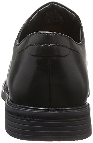 Rockport - Classic Break Wing Tip, Scarpe stringate Uomo Nero (Schwarz (BLACK LEA))