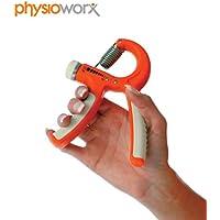 Physioworx Adjustable Hand Exerciser Trainer 5-20Kg