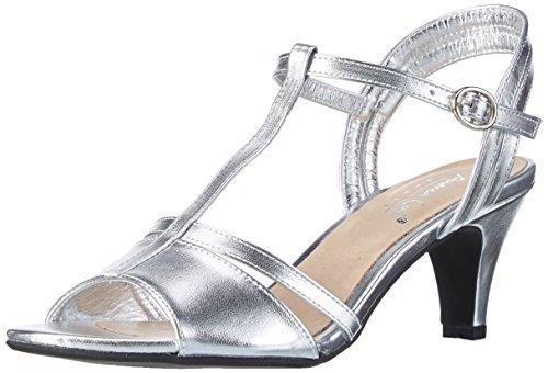 Andrea Conti1002817 - Sandali Donna , Argento (Silber (Silber 096)), 38 EU