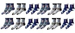 Zacharias Ankle Socks Pack of 12 Pair