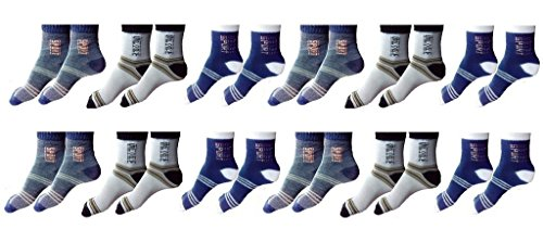 Zacharias Ankle Socks Pack of 12 Pair