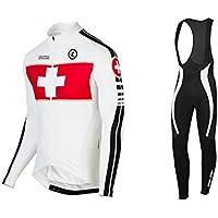 Uglyfrog 2017 Modo Di Sport Esterni Di Panno Morbido Termico Invernale Manica Lunga Ciclismo Magliette + BIB Pantaloni Bicicletta Body Triathlon Abbigliamento LJ6BTZ13