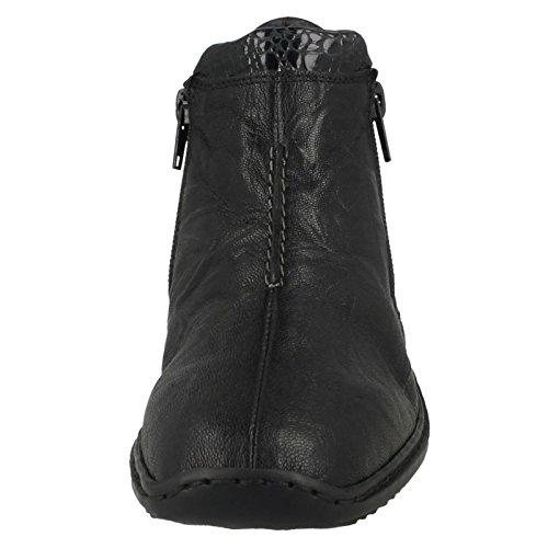 Fussqpwix Woman Black Boot Ottawa Rieker Low gwxqBHRT
