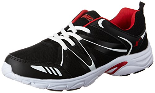 Sparx Men\'s Black and Red Running Shoes - 8 UK/India (42 EU)(SX0261G)
