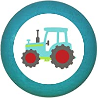 "Möbelgriff""Traktor"" Holz Buche Buche Kinder Kinderzimmer Fahrzeuge Transportfahrzeuge 1 Stück Traum Kind"