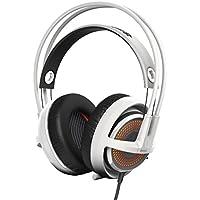 SteelSeries Siberia 350 Gaming Headset (DTS 7.1 Surround-Sound, RGB-Beleuchtung) weiß
