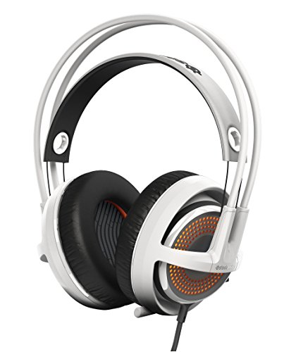 SteelSeries Siberia 350 Gaming Headset (DTS 7.1 Surround-Sound, RGB-Beleuchtung) weiß -