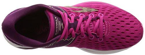 Brooks Damen Ravenna 9 Laufschuhe Pink (Pink/plum/champagne 1b630)