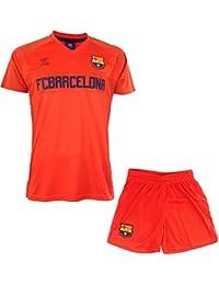 Ensemble Maillot + short Barça - Collection officielle FC BARCELONE - Taille enfant