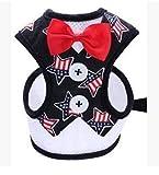 njhswlti Trägershirt Abendkleid Bogen Brust Rücken atmungsaktiv Mode Katzenhund, L