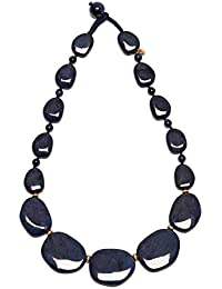Lola Rose Women Blue Quartz Statement Necklace of Length 49cm 716451