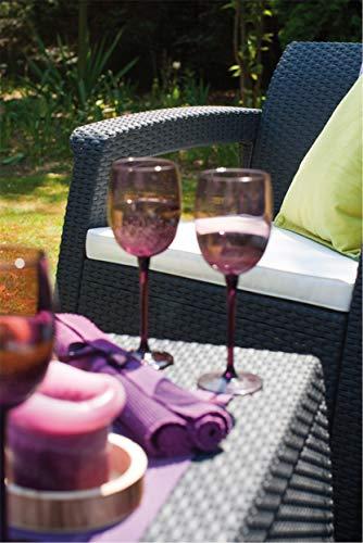 Keter Lounge Sessel Rattan, Korfu - 7