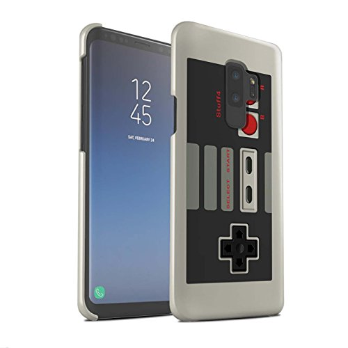 Stuff4® Glanz Snap-On Hülle/Case für Samsung Galaxy S9 Plus/G965 / Klassisches Nintendo Muster/Spielkonsolen Kollektion