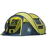 Kuppelzelte LIUSIYU Automatic Pop Up 3-4 Personenzelt 4 Season Anti-UV Wasserdicht Winddicht Ultralight Camping Outdoor Dome tentwith Tragetasche